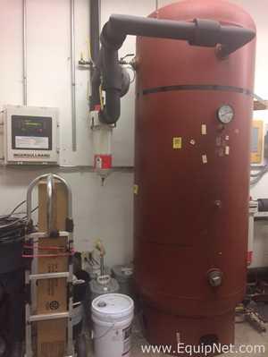 Steel Fab Compressed Air Accumulator Tank