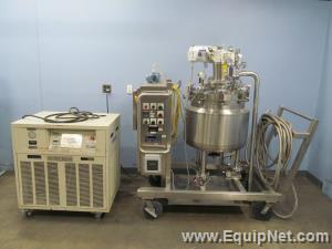 Feldmeier Equipment Approximate 35 Gallon Jacketed Tank With Tek-Temp Instruments 200 15k Chiller