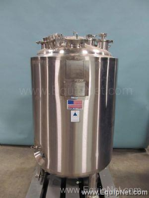 Precision Stainless Steel 500 Liter Jacketed Tank