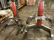 Lot Of Two Meto Corp DM-01 And DL-01 650 LB Capacity Material Lift