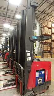 Raymond 740R45TT-A Electric 3 Stage Forklift