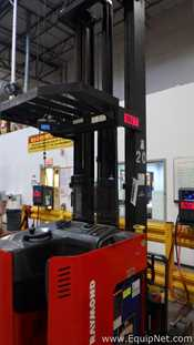 Raymond EASI R40TT-N Stand UP Reach Fork Lift
