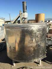 Bergmann 800 Gallon Stainless Steel Mix Tank