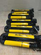 Lot of 5 Plymovent MultiSmart Arm Multi Position Fume and Dust Extraction Arms