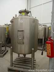 Cherry Burrell Stainless Steel Vertical 1000 L Tank
