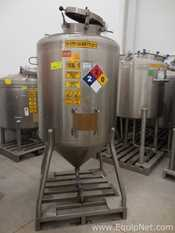 Feldmeier Equipment Stainless Steel Vertical 1000 L Tank