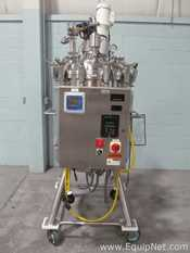 Precision 250 Liter Stainless Steel Jacketed Reactor With Top Entering Agitator And Control Panel