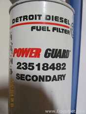 Unused Detroit Diesel Fuel Filter