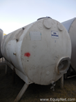 Stainless Steel Horizontal 8500 L Tank