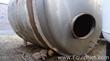 Stainless Steel Horizontal 8000 L Tank