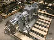 Unused Waukesha Cherry Burrell  Model 130 U1  Stainless Steel Positive Displacement Pump