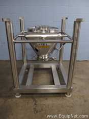 Tote Systems 118 Liter Stainless Steel Tote