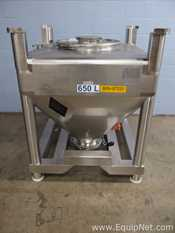 Tote Systems 650 Liter Stainless Steel Tote