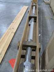 Pfaudler Glass Lined Agitator Shaft For 2000 Gallon Glass Lined Vessel