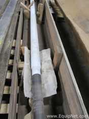 Pfaudler Glass Lined 3 Bladed Impeller Agitator Shaft