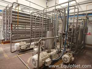 Filtration Engineering  400 U0 80 RO Plant For Concentration Of Skim Milk