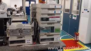 Sistema HPLC Hewlett Packard 1100 Series