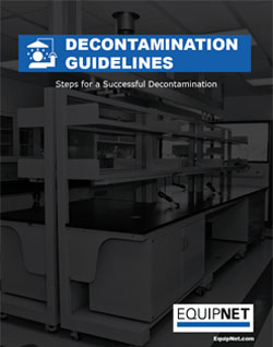 When going through decommissioning of laboratory equipment and instrumentation, it is essential to execute the proper cleaning procedures to ensure any hazardous materials are removed and cleared from assets prior to disposition, storage, or relocation.