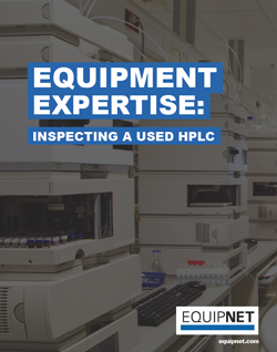 For this installment of EquipNet's Equipment Expertise, we will focus on a piece of lab equipment that can be found in chemical, biopharmaceutical, and consumer goods facilities alike. That piece of equipment is, of course, the HPLC.