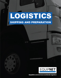 EquipNet Worldwide Logistics service provides customized crating, skidding, and/or freight services for a wide array of industrial, manufacturing, and lab equipment. Learn more about the benefits of our Logistics service in this eBook.