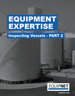 Part II of this eBook series will focus on the tips and techniques to help you properly inspect a carbon steel, stainless steel, or hastelloy vessel.